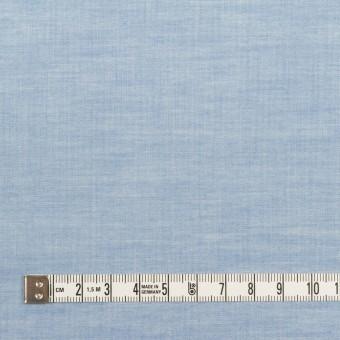 コットン&ポリウレタン×無地(サックス)×ローンストレッチ_全4色 サムネイル4