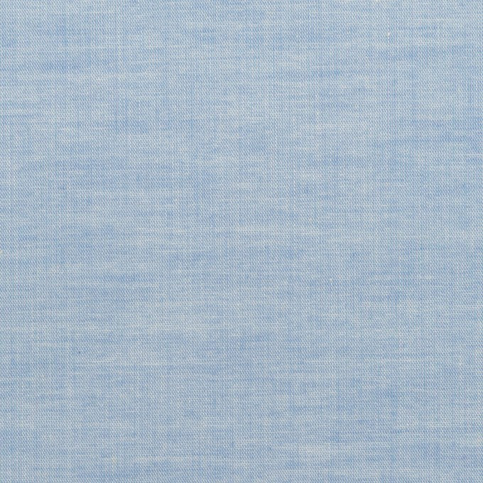 コットン&ポリウレタン×無地(サックス)×ローンストレッチ_全4色 イメージ1