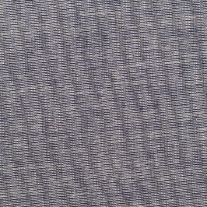 コットン&ポリウレタン×無地(アッシュネイビー)×ローンストレッチ_全4色 イメージ1