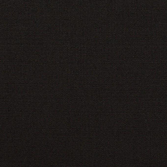 ウール×無地(ブラック)×ポプリン イメージ1