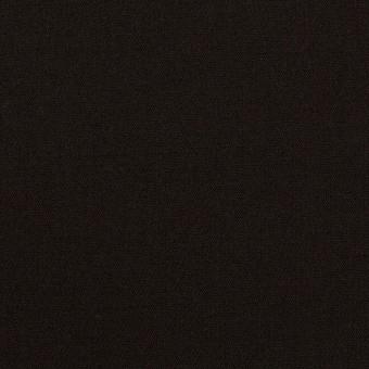 ウール&キュプラ混×無地(ブラック)×サージストレッチ_イタリア製