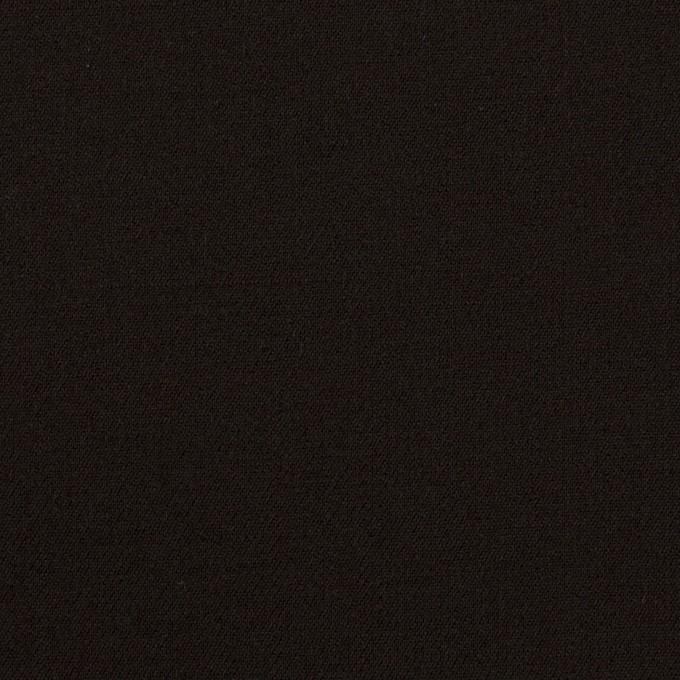 ウール&キュプラ混×無地(ブラック)×サージストレッチ_イタリア製 イメージ1