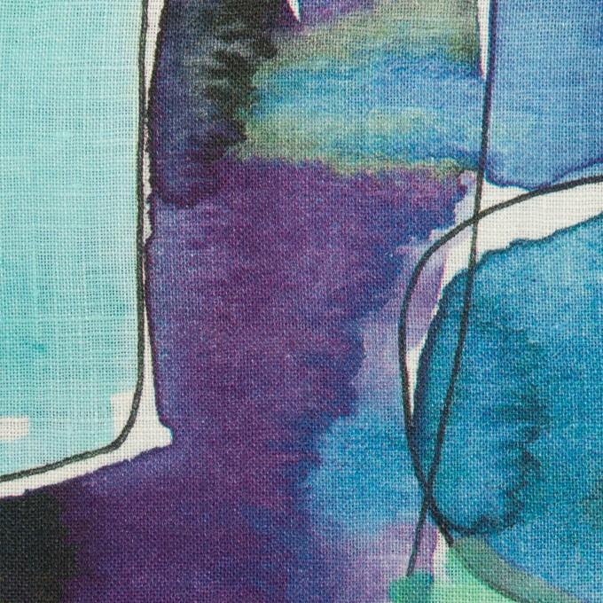 リネン×ペイント(マリン)×薄キャンバス_全3色 イメージ1