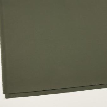 コットン&ポリウレタン×無地(アッシュカーキグリーン)×チノクロス・ストレッチ_全2色 サムネイル2