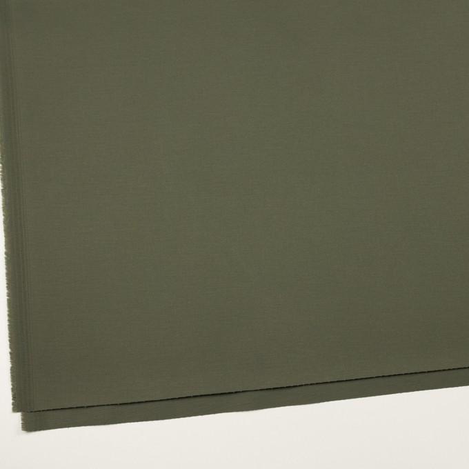 コットン&ポリウレタン×無地(アッシュカーキグリーン)×チノクロス・ストレッチ_全2色 イメージ2