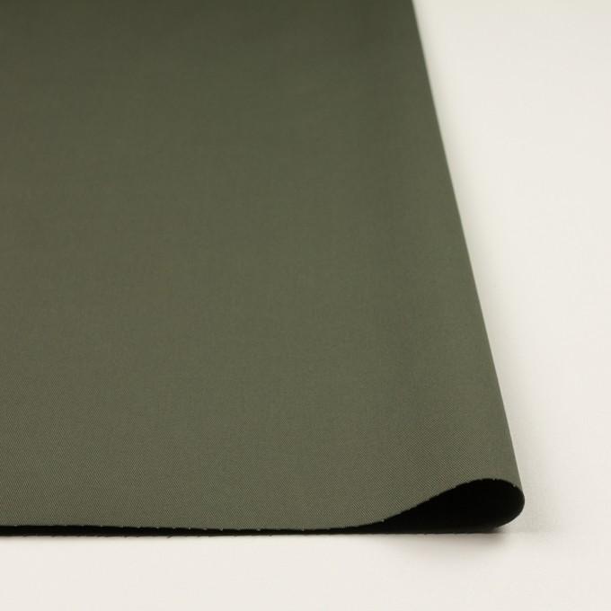 コットン&ポリウレタン×無地(アッシュカーキグリーン)×チノクロス・ストレッチ_全2色 イメージ3