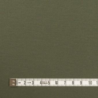 コットン&ポリウレタン×無地(アッシュカーキグリーン)×チノクロス・ストレッチ_全2色 サムネイル4