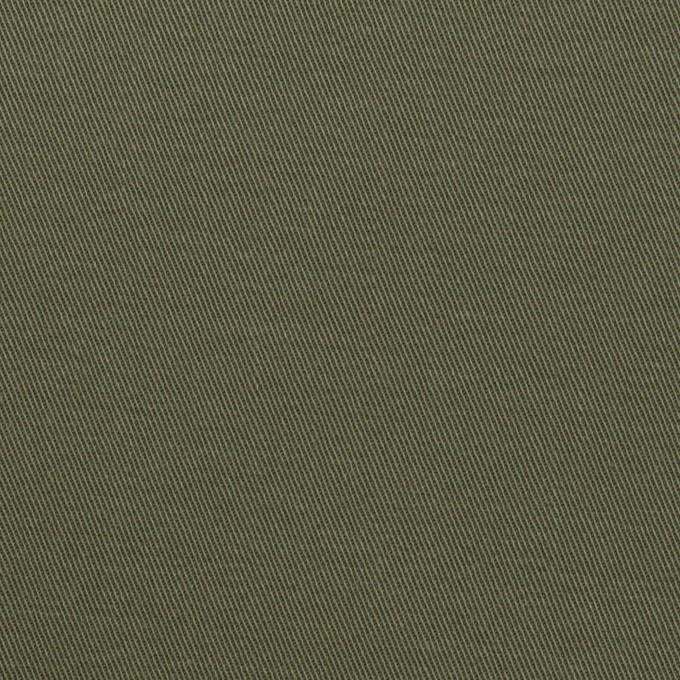 コットン&ポリウレタン×無地(アッシュカーキグリーン)×チノクロス・ストレッチ_全2色 イメージ1