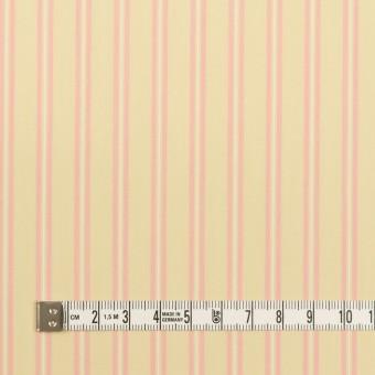 コットン&キュプラ×ストライプ(クリームイエロー&ピンク)×ローン サムネイル4