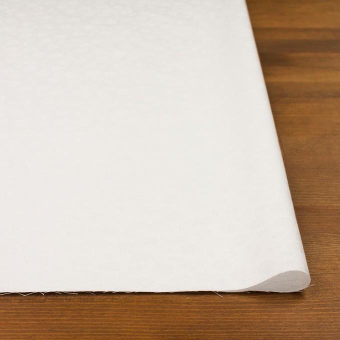 コットン×フラワー(ホワイト)×サテンジャガード イメージ3