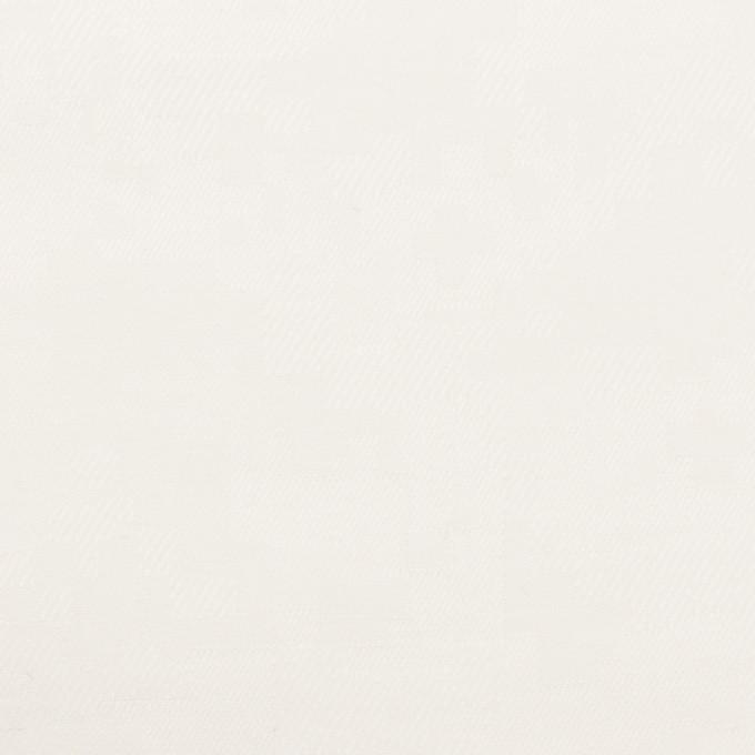 コットン×スクエア(ホワイト)×サテンジャガード イメージ1