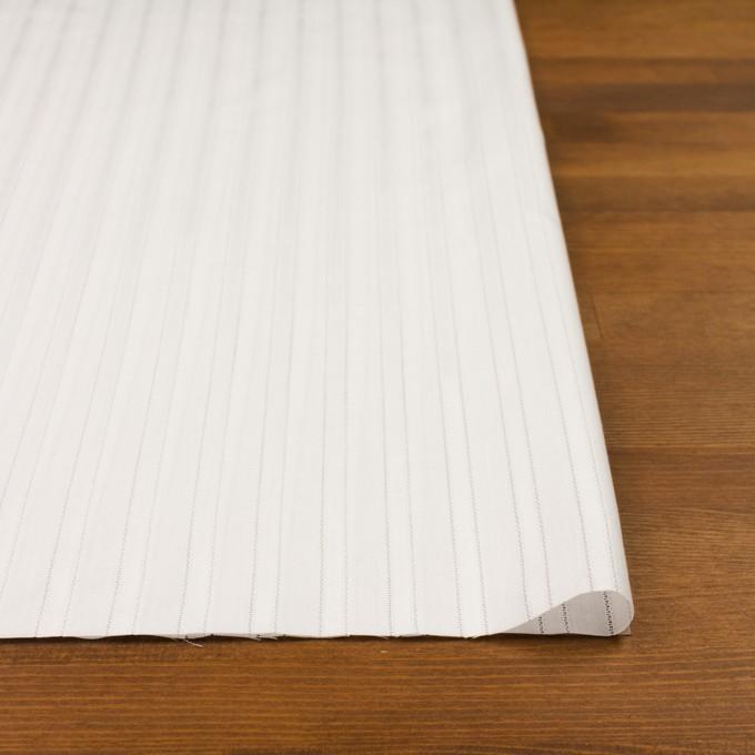 コットン×ストライプ(ホワイト)×サテンジャガード イメージ3