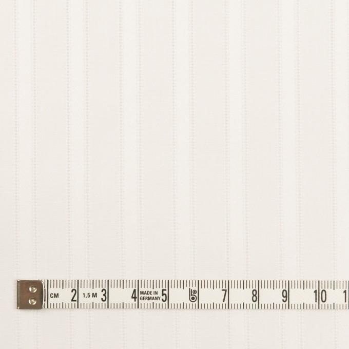 コットン×ストライプ(ホワイト)×サテンジャガード イメージ4