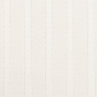 コットン×ストライプ(ホワイト)×サテンジャガード