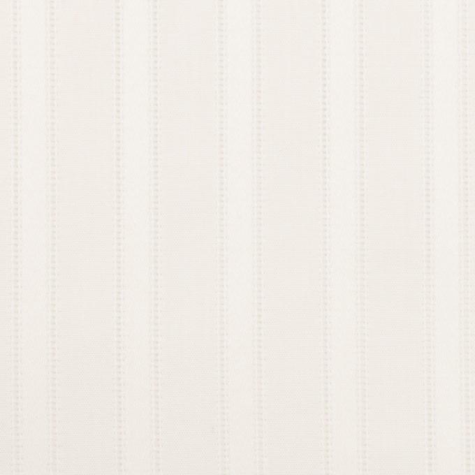 コットン×ストライプ(ホワイト)×サテンジャガード イメージ1