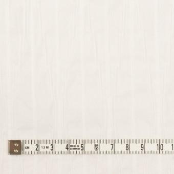 コットン&ナイロン混×無地(オフホワイト)×タテタック サムネイル4