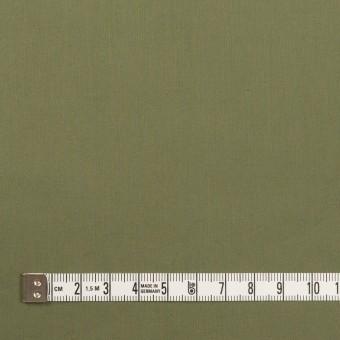 コットン&ポリウレタン×無地(カーキグリーン)×タイプライター(高密ローン)・ストレッチ_全4色 サムネイル4