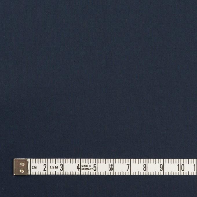 コットン&ポリウレタン×無地(ネイビー)×タイプライター(高密ローン)・ストレッチ_全4色 イメージ4