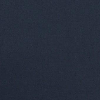 コットン&ポリウレタン×無地(ネイビー)×タイプライター(高密ローン)・ストレッチ_全4色