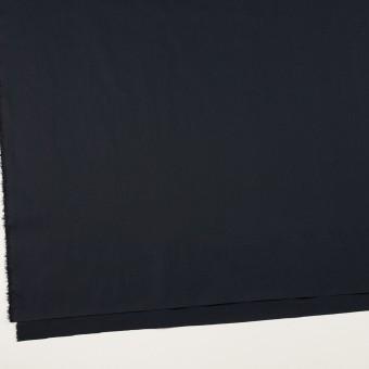 コットン&ポリウレタン×無地(ダークネイビー)×タイプライター(高密ローン)・ストレッチ_全4色 サムネイル2