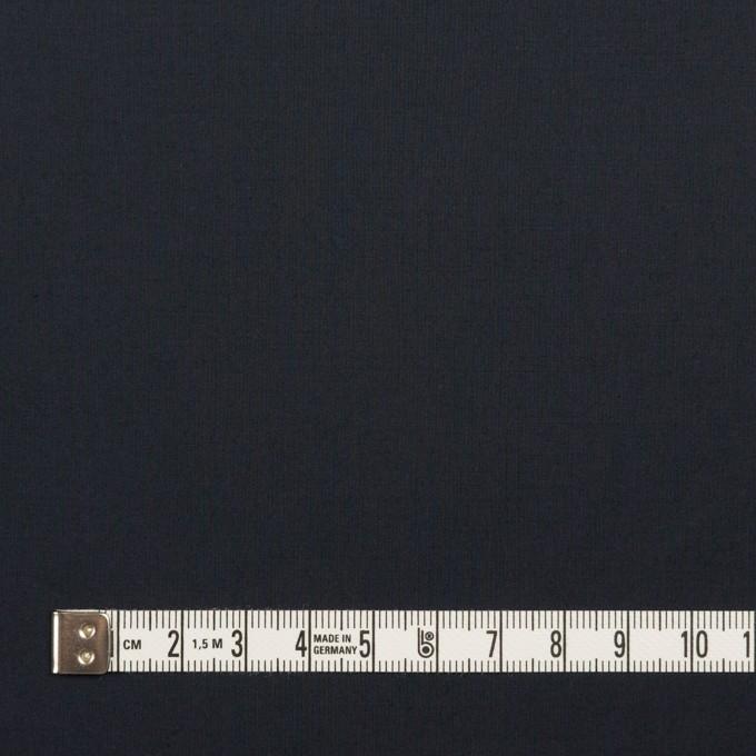 コットン&ポリウレタン×無地(ダークネイビー)×タイプライター(高密ローン)・ストレッチ_全4色 イメージ4