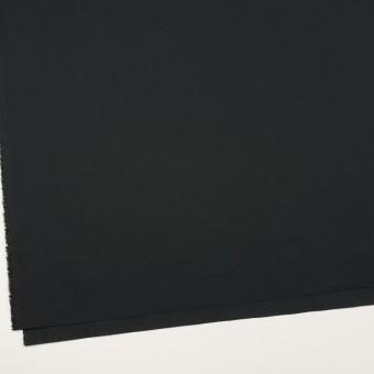 コットン&ポリウレタン×無地(ブラック)×タイプライター(高密ローン)・ストレッチ_全4色 サムネイル2