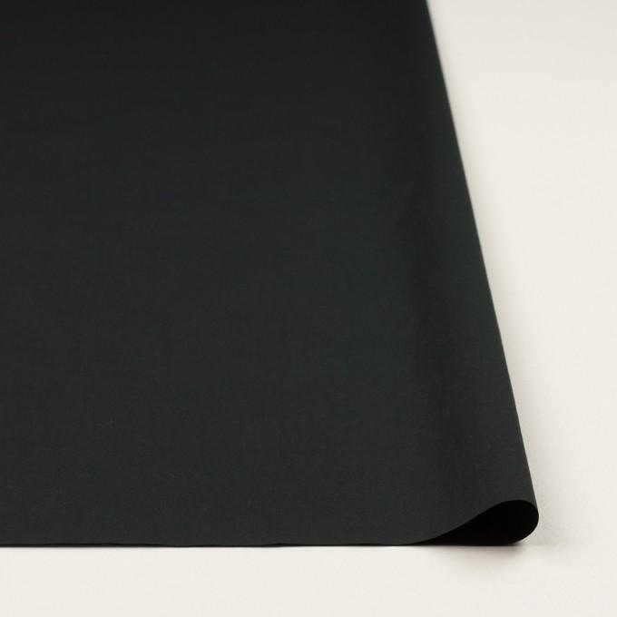 コットン&ポリウレタン×無地(ブラック)×タイプライター(高密ローン)・ストレッチ_全4色 イメージ3