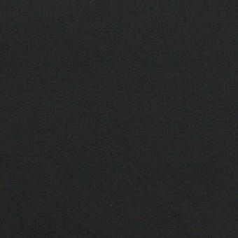 コットン&ポリウレタン×無地(ブラック)×タイプライター(高密ローン)・ストレッチ_全4色