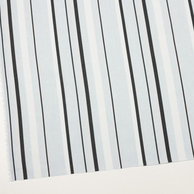 コットン×ストライプ(サックス)×ボイルジャガード_全2色 イメージ2