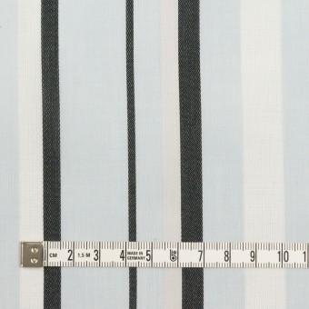 コットン×ストライプ(サックス)×ボイルジャガード_全2色 サムネイル4