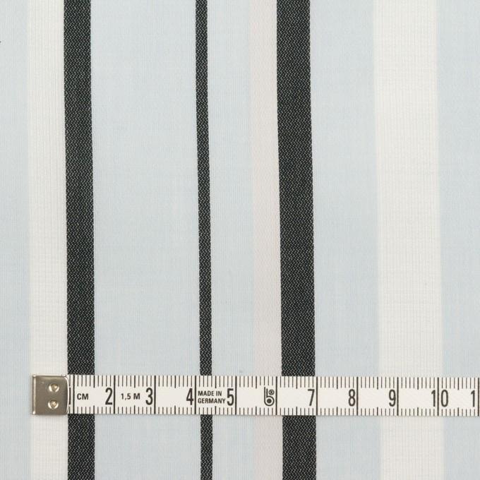コットン×ストライプ(サックス)×ボイルジャガード_全2色 イメージ4