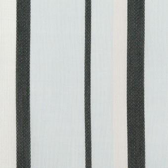 コットン×ストライプ(サックス)×ボイルジャガード_全2色