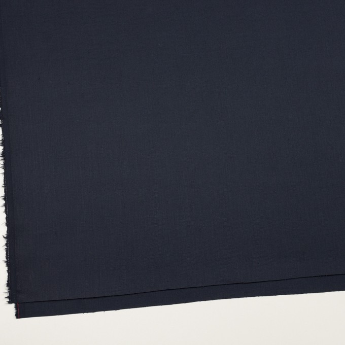 リネン&コットン混×無地(ネイビー)×サージストレッチ イメージ2