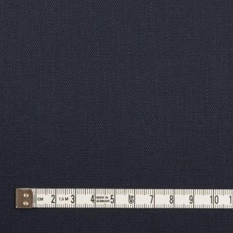 リネン&コットン混×無地(ネイビー)×サージストレッチ サムネイル4