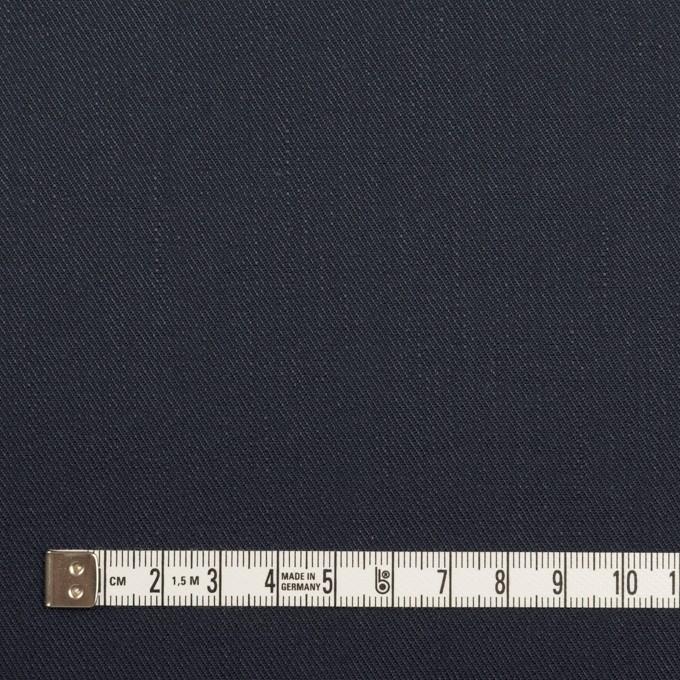 リネン&コットン混×無地(ネイビー)×サージストレッチ イメージ4