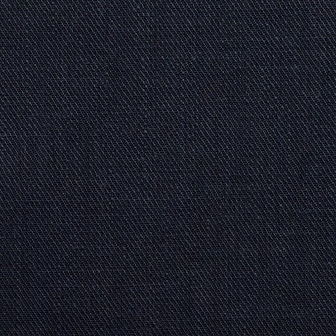 リネン×無地(ネイビー)×サージ イメージ1