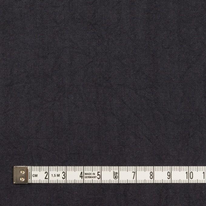 リネン×無地(アッシュダークネイビー)×薄キャンバス・ワッシャー イメージ4