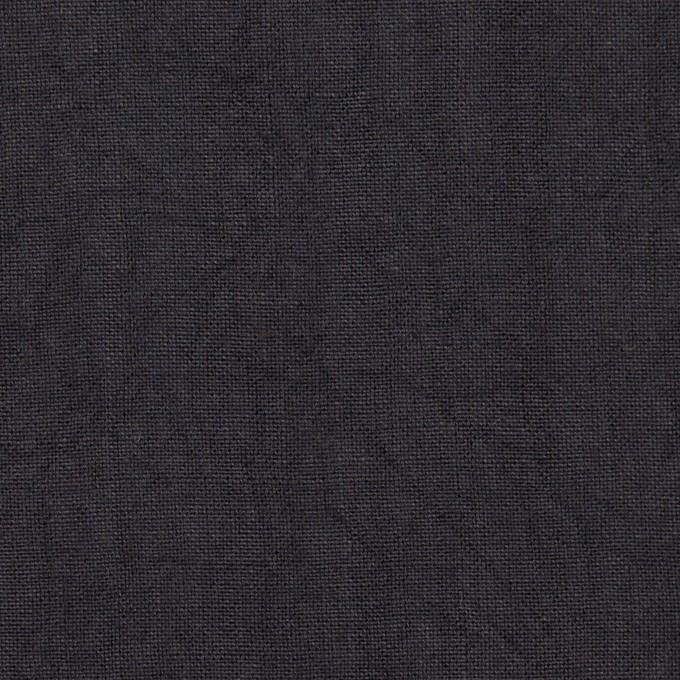 リネン×無地(アッシュダークネイビー)×薄キャンバス・ワッシャー イメージ1
