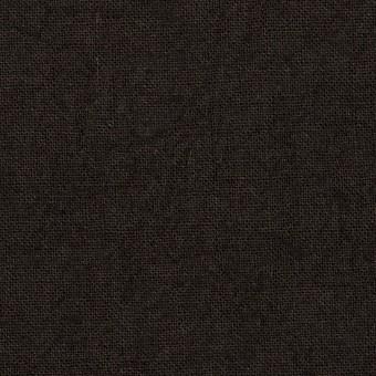 リネン×無地(チャコールブラック)×キャンバス