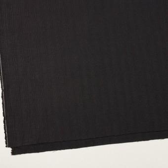 リネン&コットン×無地(チャコールブラック)×斜子織 サムネイル2