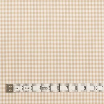コットン×チェック(ベージュ)×ローン_全2色 サムネイル4