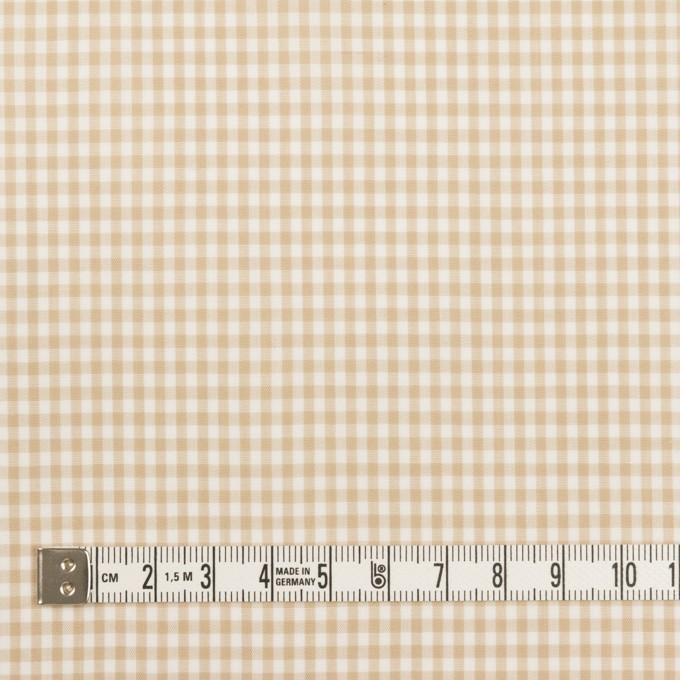 コットン×チェック(ベージュ)×ローン_全2色 イメージ4