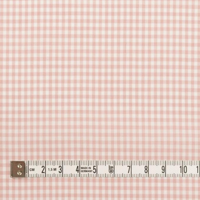 コットン×チェック(ピンクベージュ)×ローン_全2色 イメージ4