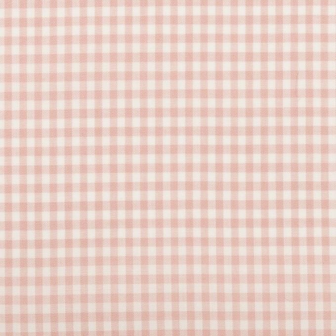 コットン×チェック(ピンクベージュ)×ローン_全2色 イメージ1