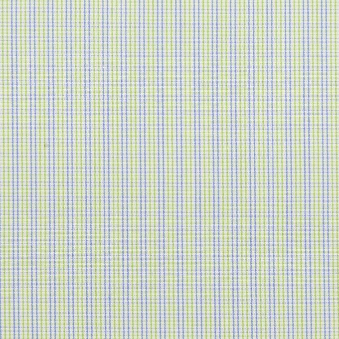 コットン×チェック(ミント&ブルー)×ブロード イメージ1