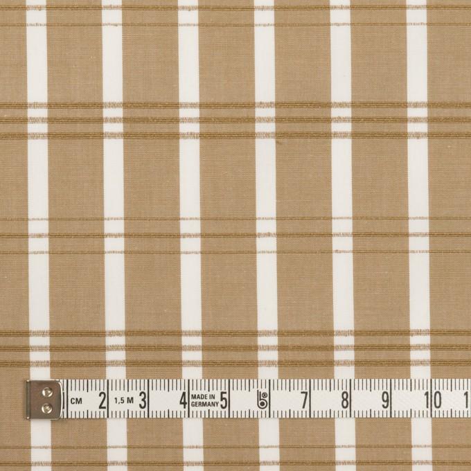 コットン×チェック(モカ)×ブロード イメージ4