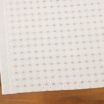 コットン×サークル(オフホワイト)×ローン刺繍 サムネイル2