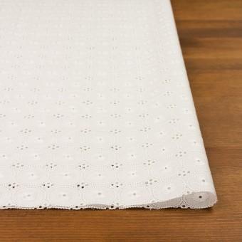 コットン×サークル(オフホワイト)×ローン刺繍 サムネイル3