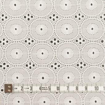コットン×サークル(オフホワイト)×ローン刺繍 サムネイル4