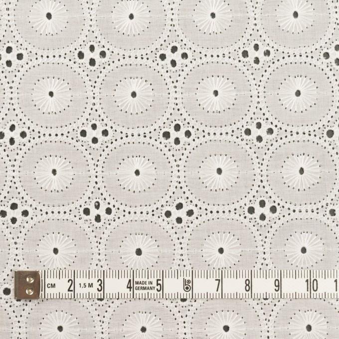 コットン×サークル(オフホワイト)×ローン刺繍 イメージ4